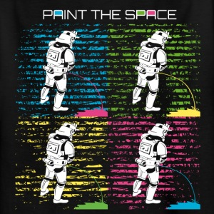 Troop Art - PAINT THE SPACE - Stormtrooper Party - Kinder T-Shirt