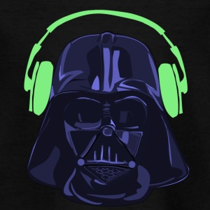 Vader purple green - Kinder T-Shirt