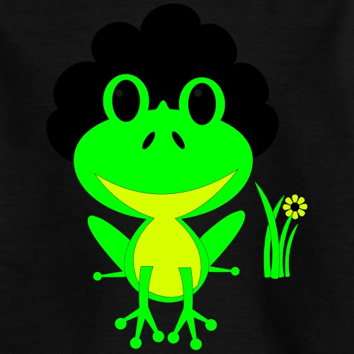 Afro Froggy - Kids' T-Shirt