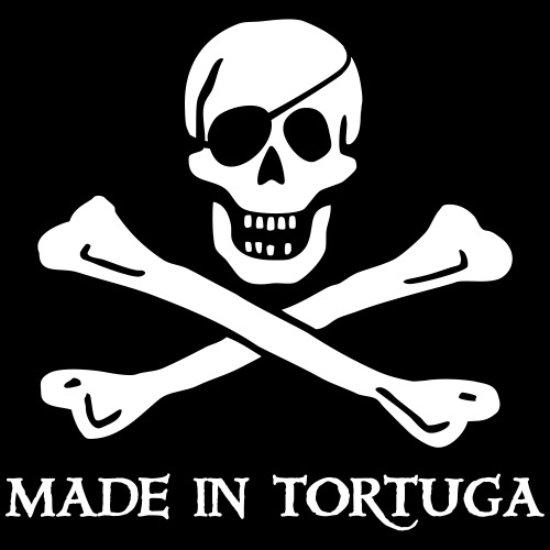 Made in Tortuga - Kinder T-Shirt