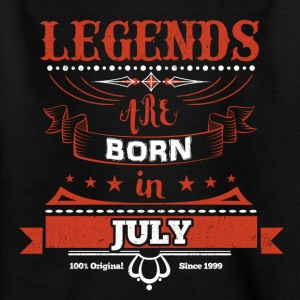 Legends are born in July birthday gift - Kids' T-Shirt