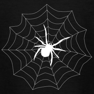 Spider on its web - Kids' T-Shirt