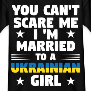 ukrainian wife - Kids' T-Shirt