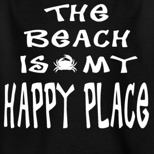 The Beach is my Happy Place - Kids' T-Shirt