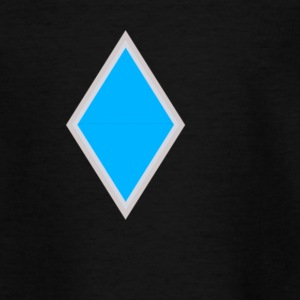 Diamant blau - Kinder T-Shirt