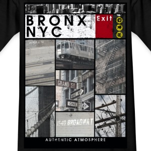 Bronx NYC - T-skjorte for barn