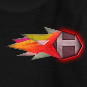 Abstract H LETTER - Kinderen T-shirt