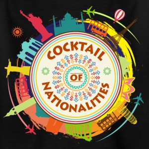 Cocktail der Nationalitäten - Kinder T-Shirt