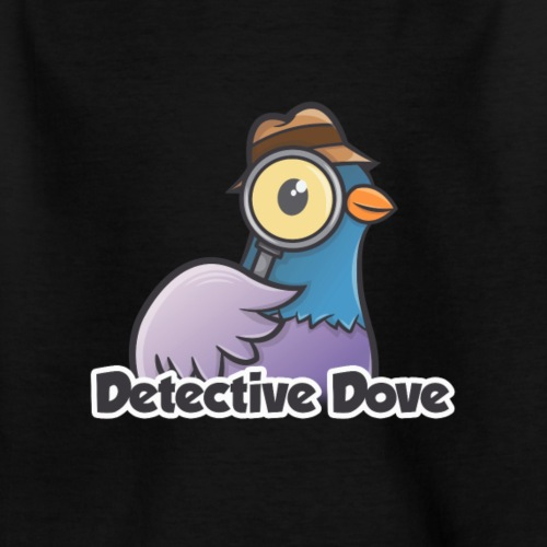 Detective Dove Logo - Kinder T-Shirt