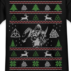 Fula Christmas Vikings - T-shirt barn
