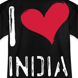 I love India - Kids' T-Shirt