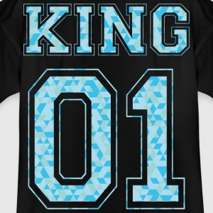KING 01 - Blue Edition - Kids' T-Shirt