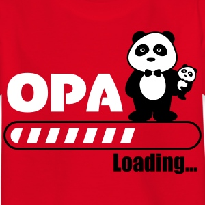 Opa loading - Kinder T-Shirt