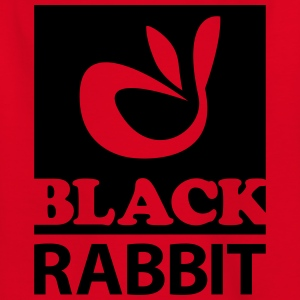 black rabbit - Kinder T-Shirt
