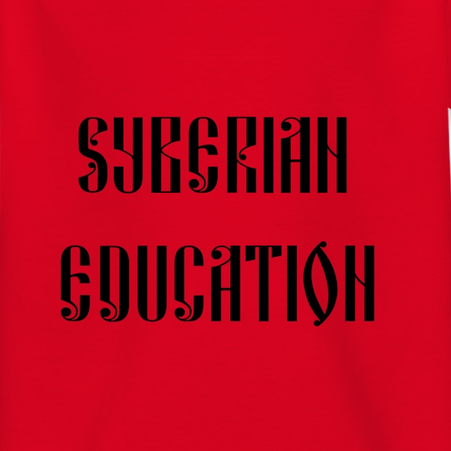 Russia Russland Syberian Education