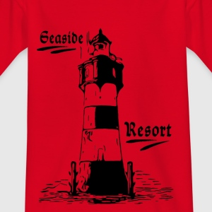 Seaside Resort Lighthouse - Kids' T-Shirt