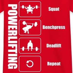 powerlifter livsstil - T-shirt barn