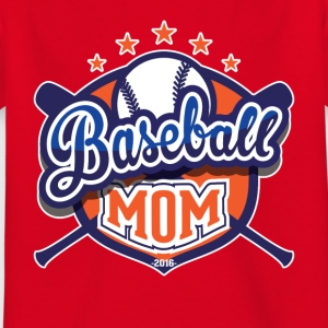 Baseball mom - Kinderen T-shirt