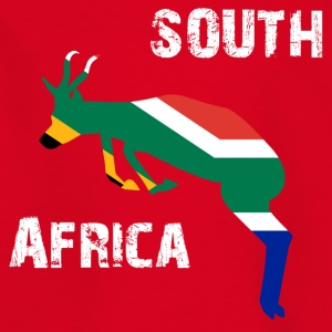 Nation-Design South Africa Springbok - Kinder T-Shirt