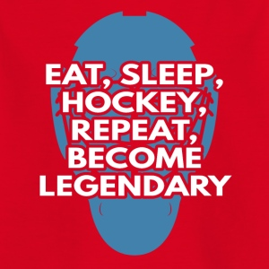 Eishockey: Eat, Sleep, Hockey, Repeat, Become - Kinder T-Shirt