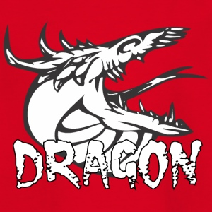 slang tong dragon - Kinderen T-shirt