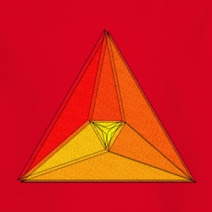 Enzoma - gradient in the triangle - Kids' T-Shirt