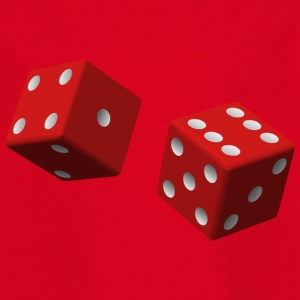 Red dice - Kinderen T-shirt