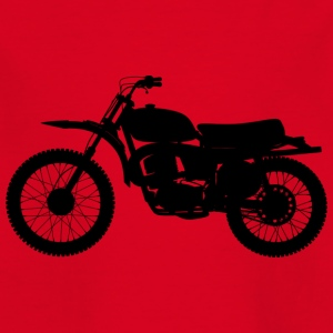 Motorcycle enduro - Kids' T-Shirt