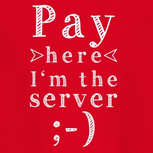 Pay here - Kids' T-Shirt