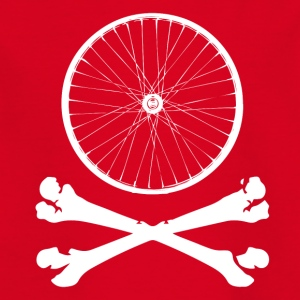 BIKE BONES - T-skjorte for barn