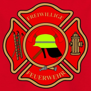 Firefighter Patch - Kids' T-Shirt
