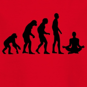 Human Evolution Yoga - Kinder T-Shirt