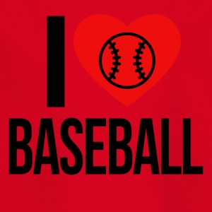 I LOVE BASEBALL - Kids' T-Shirt