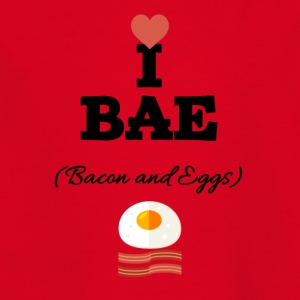 I love bacon and eggs - Kinder T-Shirt