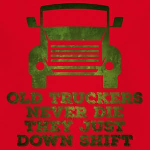 conducteur camionneur / camion: Old Truckers Never Die. ils - T-shirt Enfant
