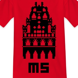 Pixel Stad MS - T-shirt barn