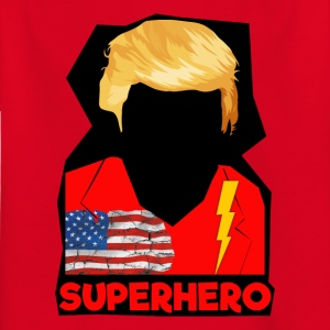 Super Donald / Orange Trump Tear-rive - T-skjorte for barn