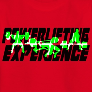 powerlifting EXPERIENCE GREEN - Kids' T-Shirt