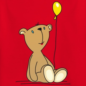 Teddy Bear Balloon cuddly children's toys - Kids' T-Shirt