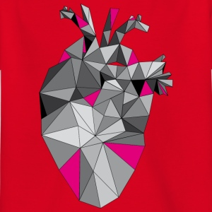 Graphic Heart with Pink - Kids' T-Shirt