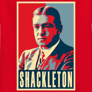Sir Ernest Shackleton (couleurs rouge, blanc et bleu) - T-shirt Enfant