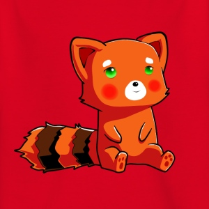 Orange racoon - T-skjorte for barn