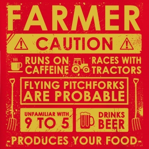 Agriculteur: Attention! - T-shirt Enfant