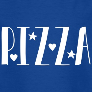 bare Pizza - Teenager-T-shirt
