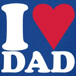 fathers day / vaderdag I love my dad - Teenager T-shirt