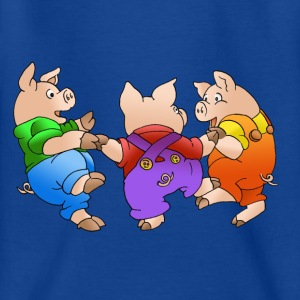 three piglets - Teenage T-shirt