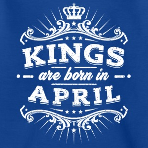 Kings Are Born En Avril - T-shirt Ado