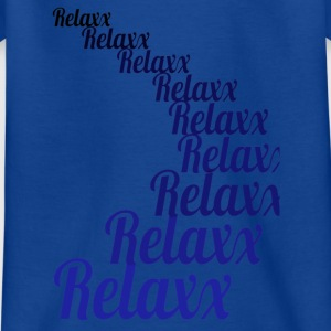 Relax blauw 1 - Teenager T-shirt