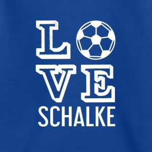 LOVE SCHALKE - Teenager T-shirt