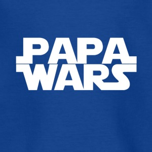 Papa wars - hvid - Teenager-T-shirt